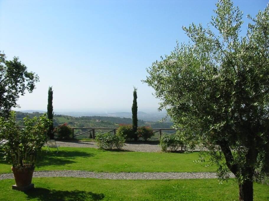 giardino con vista