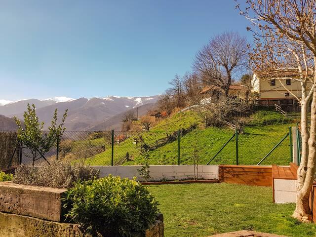 Vistas al Sur, Picos Estorbín y Guazones (Febrero 2019)
