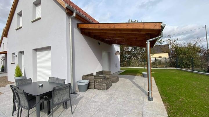 "Maison ""Nicole"" individuelle avec grande terrasse"