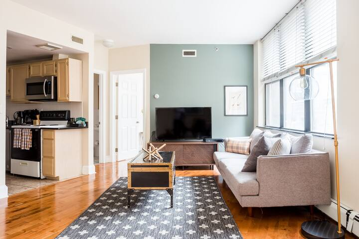 Convenient, furnished 1BR in the heart of Boston