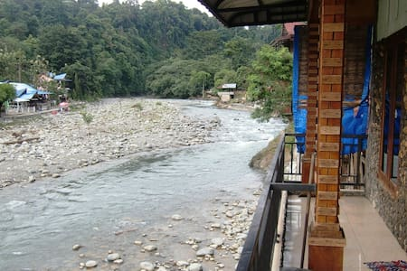 River View Room_Solo/Double - Bukit Lawang