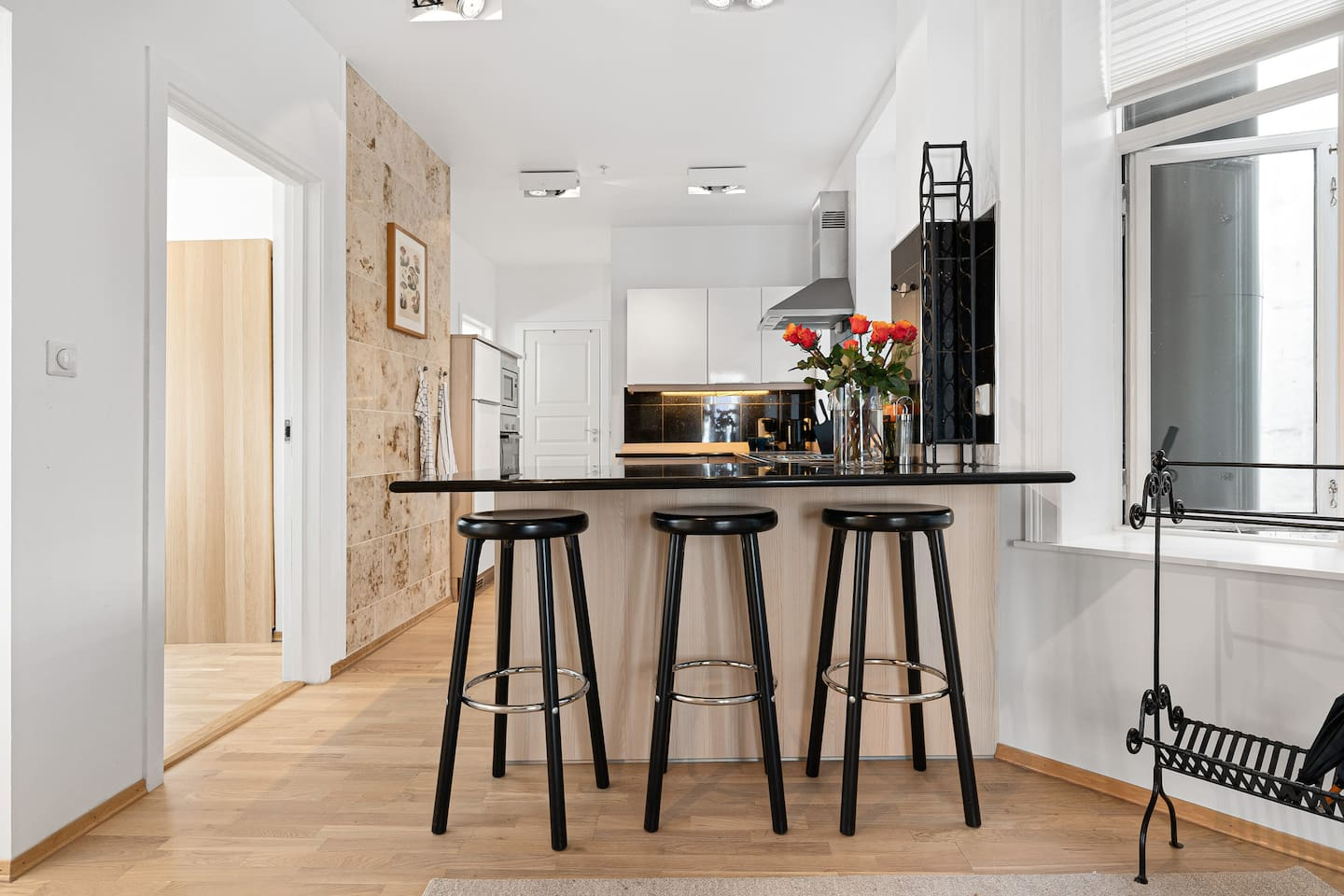 Brand new redecorated apt in the heart of Bergen