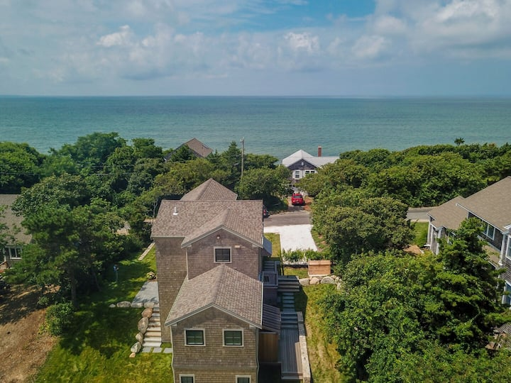 #424: Gorgeous Architectural Home w/ Water Views, Steps From Private Beach!