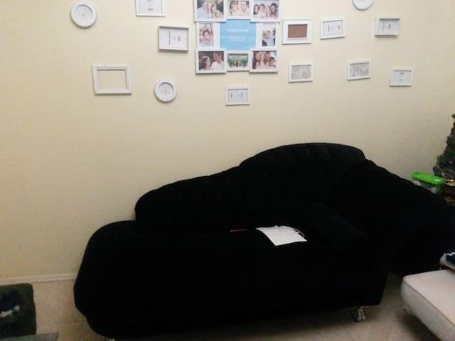 Ap confortavel, grande e bem decorado
