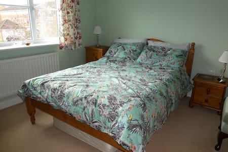 Double bed in Oakham, Rutland