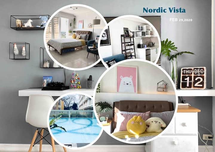 Nordic Vista - 33SQM + PS4 + Netflix+ free Pool