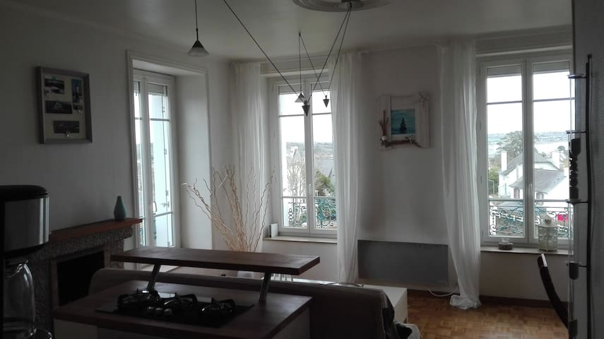 appartement ker yvonne vue mer