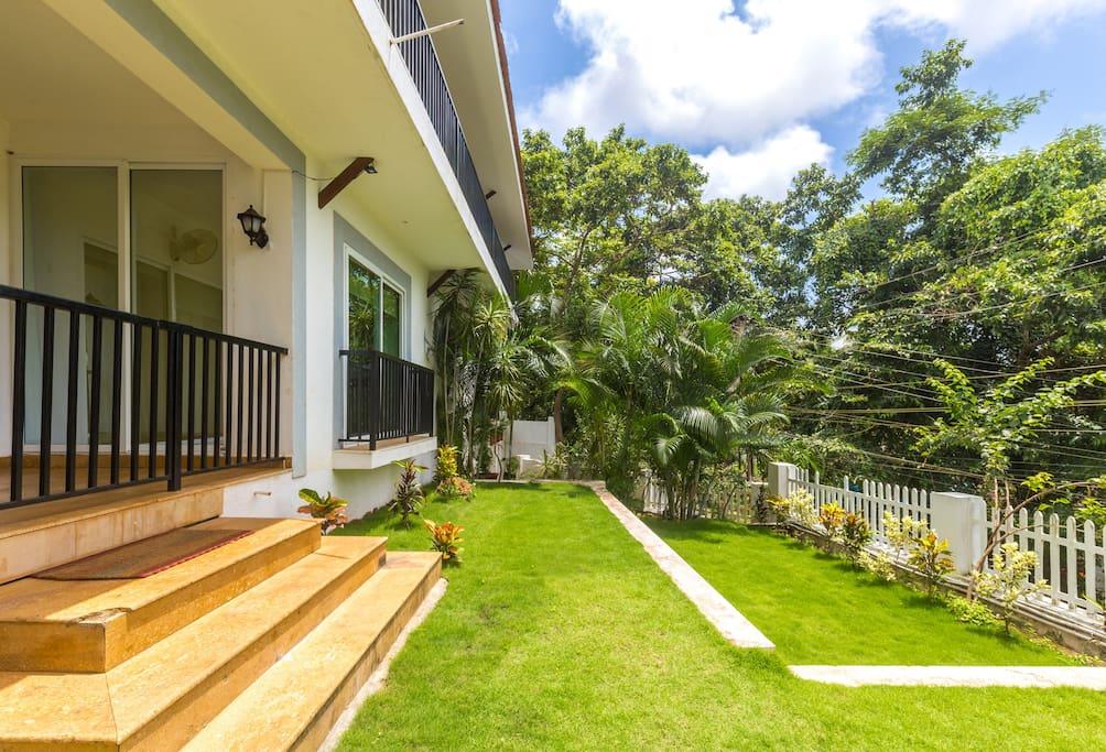 Elaine Gardens Villa With Pool Near Anjuna Beach Villas