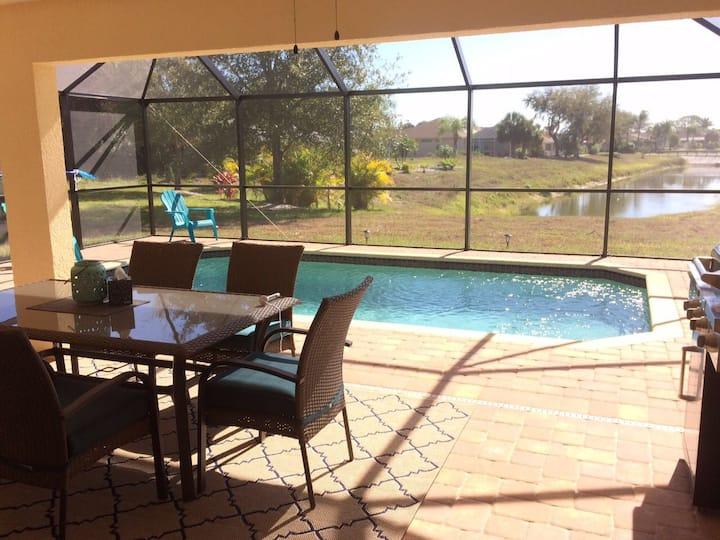Villa Sunrise Florida (WLAN,Pool ...)
