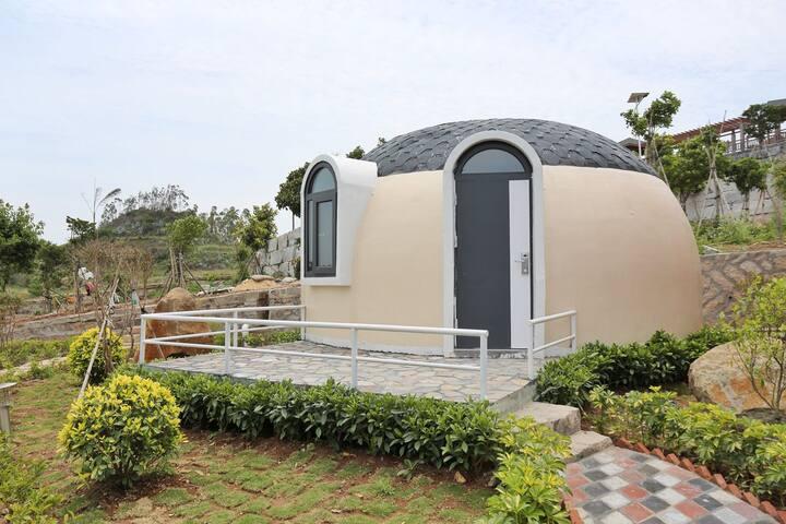 火山岛雅玛山庄天空之屋(含免费马术体验)