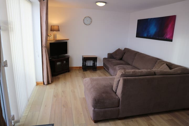 Spacious one bedroom flat in Burray, Orkney