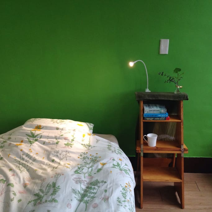 Spacious room with windows for the people who enjoy natural sunlight and freshness in the room.