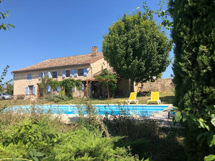 Tranquillity in Souel - 4km from Cordes sur Ciel
