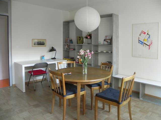 Bright and charming flat, Carouge's Area