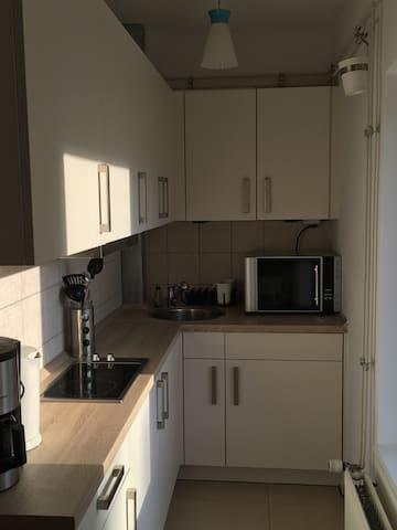Nette kleine Wohnung im Zentrum - Kappeln - Apartment