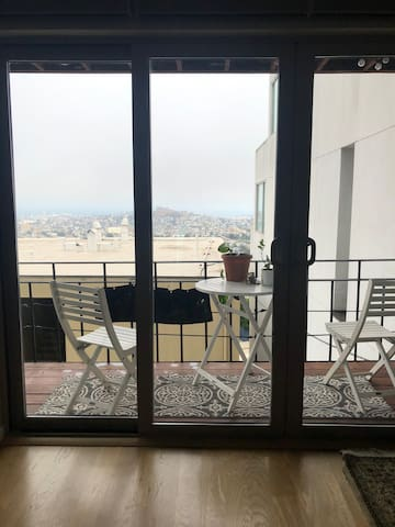 Spacious SF 1Br+ with Balcony, Views