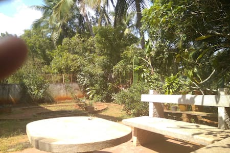 Quiet one bedroom with garden view. - Villupuram - Talo