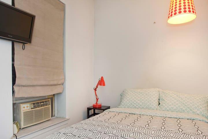 Air conditioner in bedroom