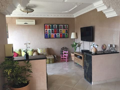 Superb apartment 100m2 with 2 Terraces of 50m2