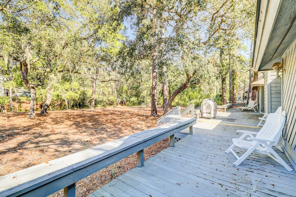 Welcome to Hilton Head Island! This secluded lakeside retreat is professionally managed by TurnKey Vacation Rentals.