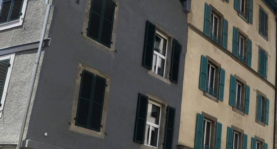 Appartement au coeur de Genève