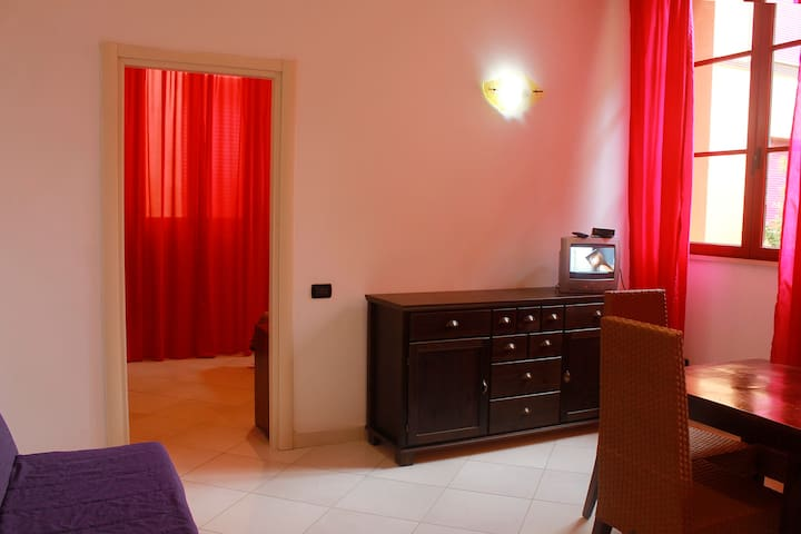 Basic 2 Room Apartment Near The Beach - Marina di Pisa-tirrenia-calambr