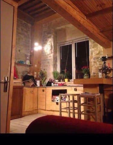 Une jolie chambre très cosy - Caluire-et-Cuire - Loft