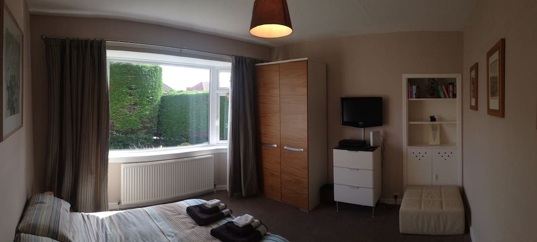 Contemporary and comfy kingsize room - Edimburgo - Bungalow