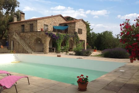 Stunning mansion 30km from Argeles - Castelnou - Κάστρο