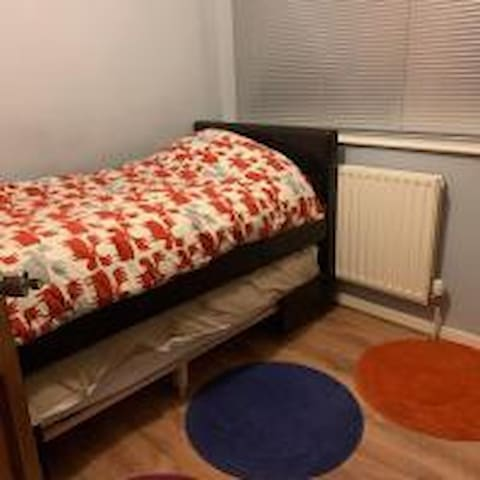 Clare's house,  single room with mid sleeper