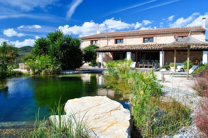 Large Mansion in Lloseta Majorca With Private Pool
