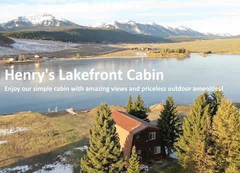 Henry's Lakefront Cabin: + Kayaks, Canoe, & More!