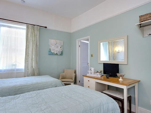 Twin Room at Hampsfell House Hotel