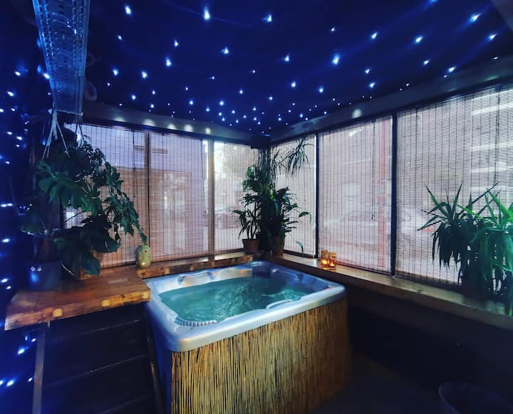 Steun de horeca: pop-up jungle - suite met jacuzzi