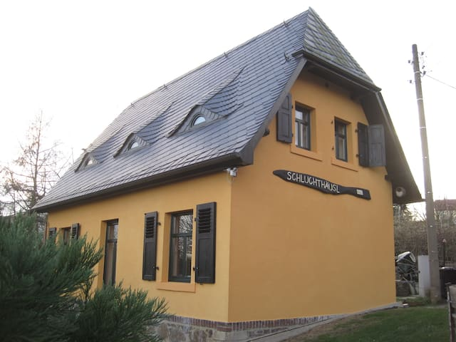 Cottage Schluchthäus'l house with soul and flair