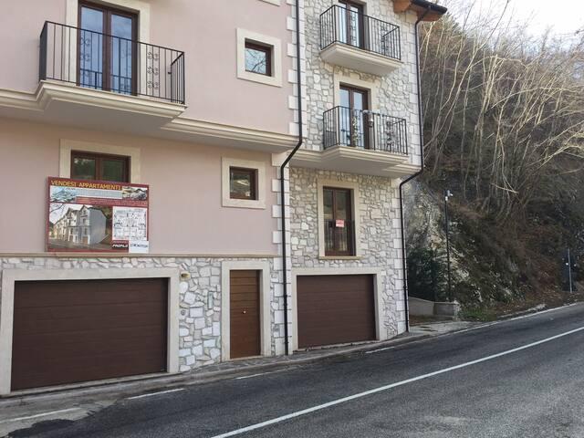 Nuovo App. Roccapia Centro x 4 - Rocca Pia - Apartemen