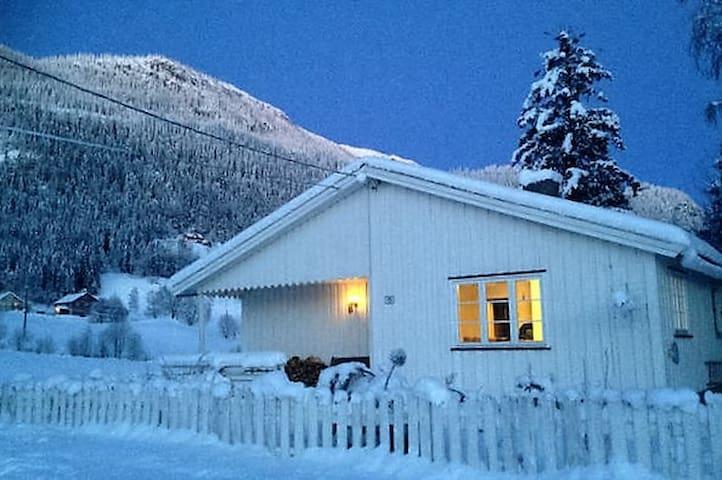 House at Myrvoll Farm by Kvitfjell