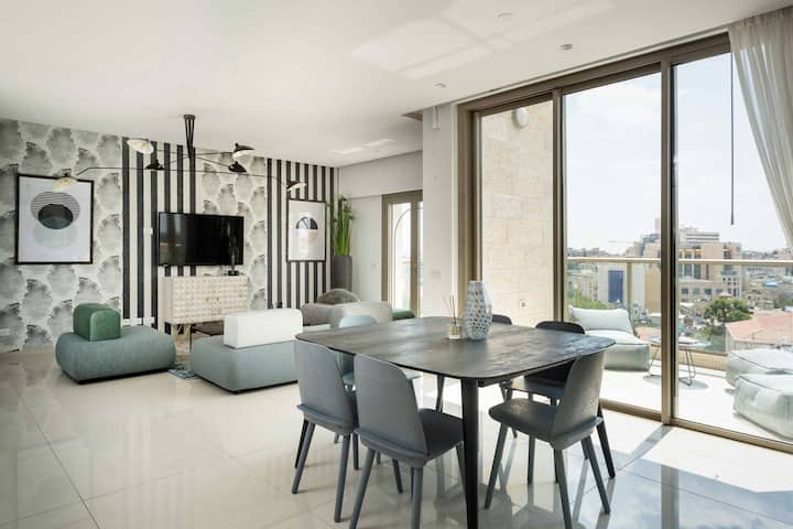 Presidential Two-Bedroom Apartment  With Terrace