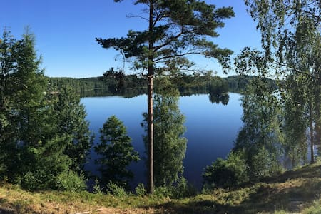 Lilla Loftsdal BNB - Sauna Lake - Aplared - Haus