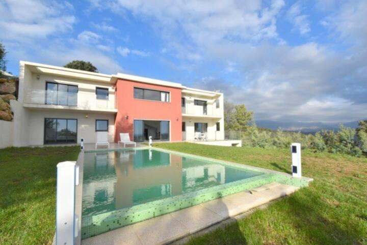 Superbe vue mer panoramique villa contemporaine 5P