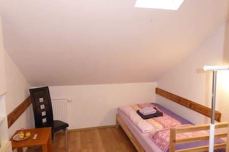 Unterkunft im Stile einer Herberge, Zimmer 4
