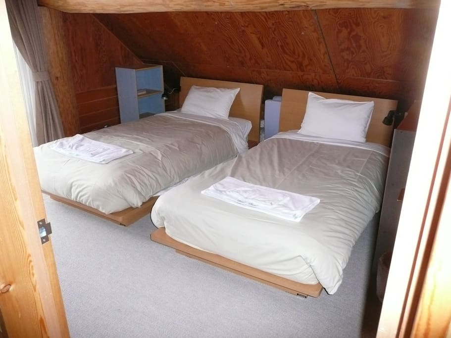 Bed 2 2 x Big single beds or make big double
