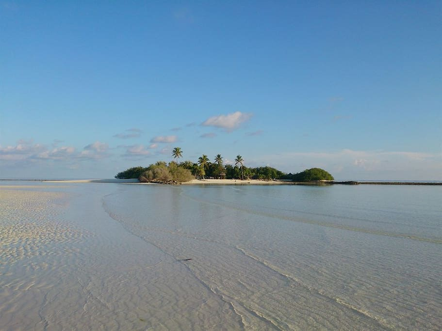 this is sand bank near rasdhoo