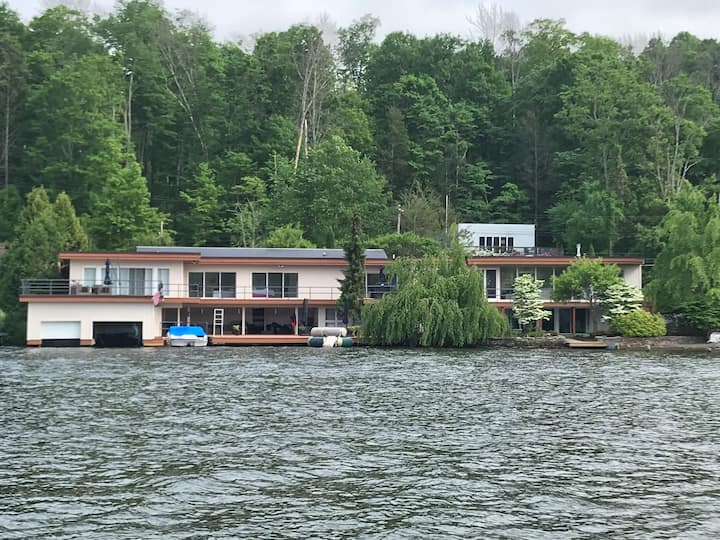 Harvey's Lake Waterfront Home with Dazzling Views
