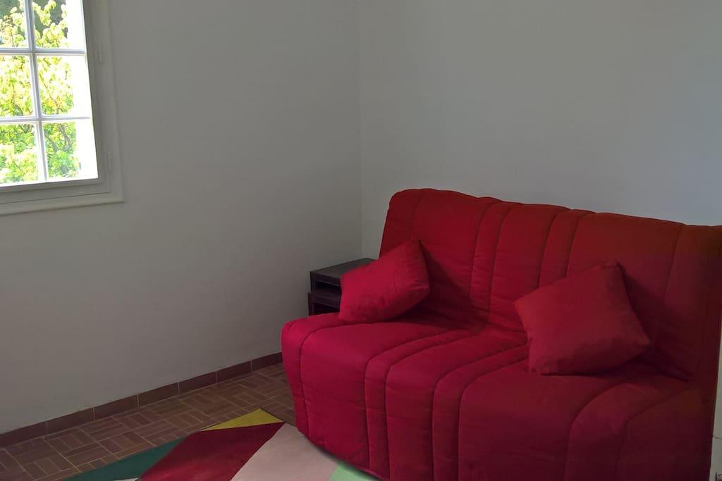 Chambre 1 avec canapé convertible