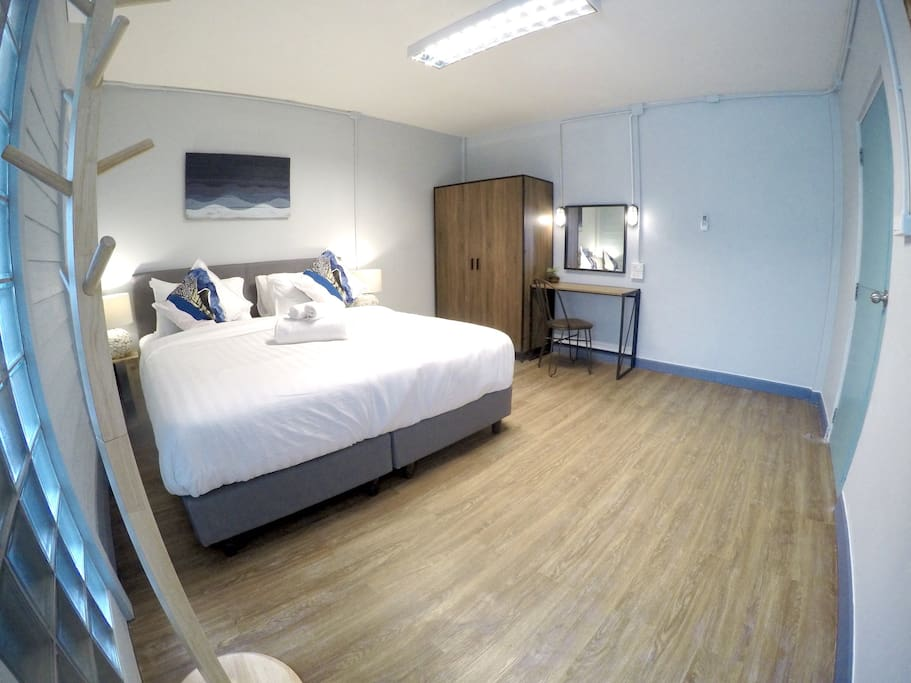 Two Bedrooms-Master Bedroom
