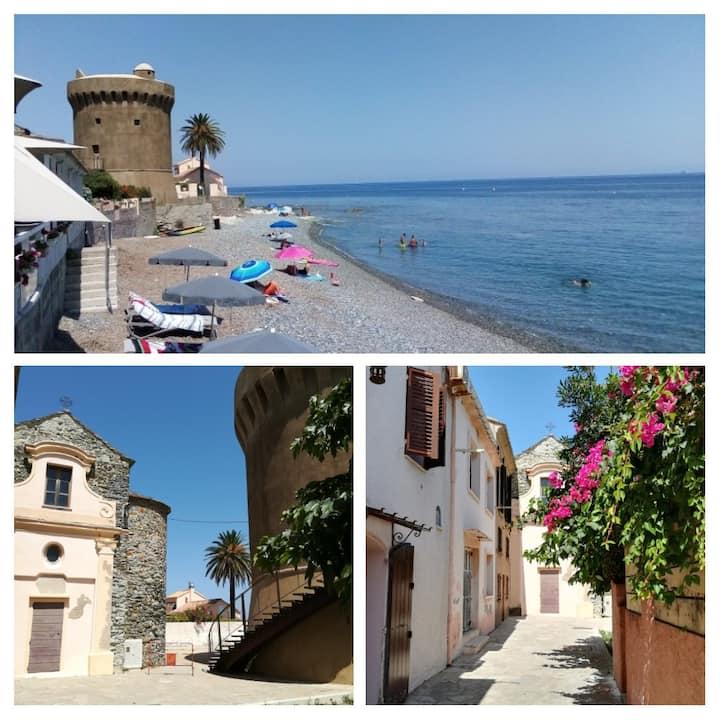 Cap Corse -Tour de Miomo - Studio deux personnes