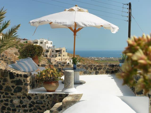 Afoura Houses - Blue - Exo Gonia - Haus