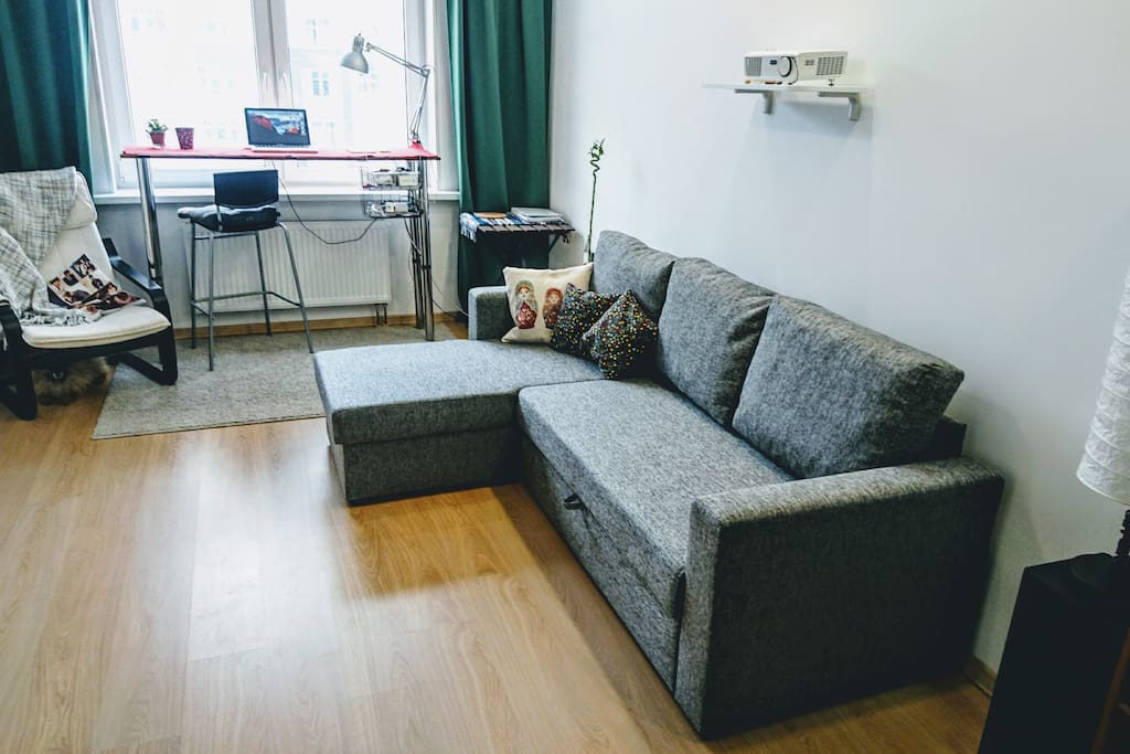 your room and sofa