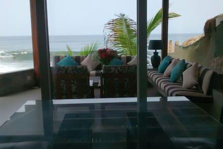 Spectacular Beach Front House - House